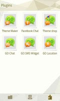 Screenshot of GO SMS Pro Cornner theme