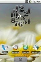 Screenshot of Hero Clock 4 Widget 2x2
