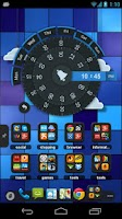 Screenshot of TSF Clock Widget