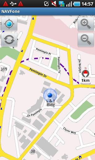NAVFone GPS SG