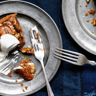 Malted Walnut Pie