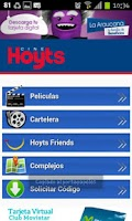 Screenshot of Hoyts Cinemas Chile