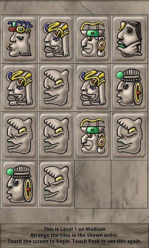 【免費解謎App】Mayan Tiles-APP點子