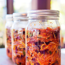 Red Cabbage Kimchi