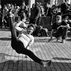 dancers by Kathleen Devai - People Street & Candids ( men music dance street )