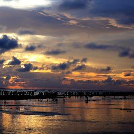 by Md Mamunur Rahman - Landscapes Cloud Formations