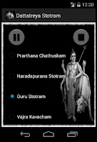 Screenshot of Dattatreya Stotram