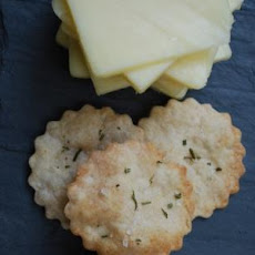 Rosemary Sea Salt Crackers