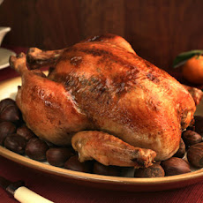 Roasted Capon with Citrus-Sherry Jus Recipe