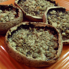 Roasted Portobello Mushrooms With Blue Cheese