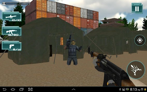 COMMANDO COUNTER STRIKE:ATTACK APK screenshot thumbnail 9