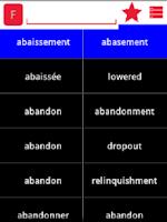 Screenshot of English Galician Dictionary