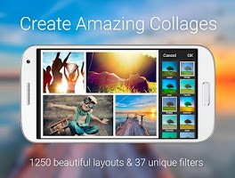 Screenshot of piZap Photo Editor & Collage