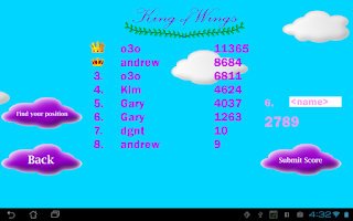 Screenshot of King of Wings
