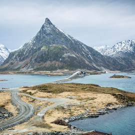 Norway by Mike Woodford - Landscapes Mountains & Hills ( mountain, nature, remote, fjord, norway )