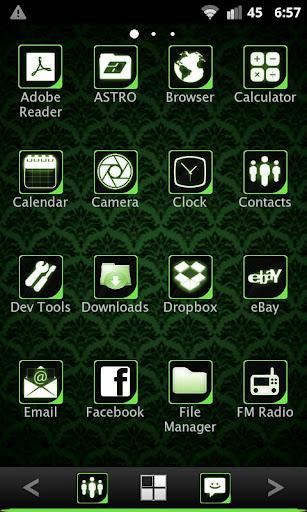 【免費個人化App】ADWTheme Lime Icons-APP點子