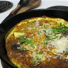 Hangtown Fry with Parmesan and Fresh Herbs