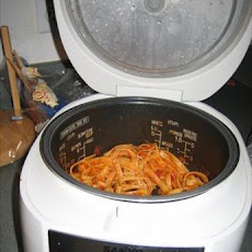 Pasta in the Rice Cooker