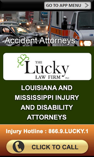 Accident App by The Lucky Law