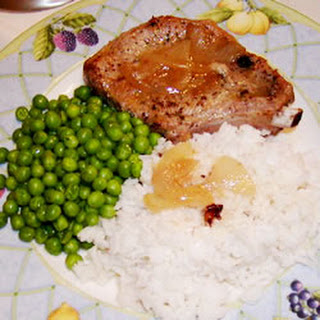 Gingered Pork Chops in Orange Juice