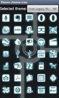 Screenshot of Glow Go Launcher Ex Theme
