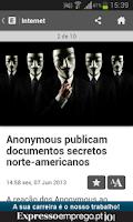 Screenshot of Exame Informática Online