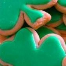 Fabulous Shamrock Sugar Cookies