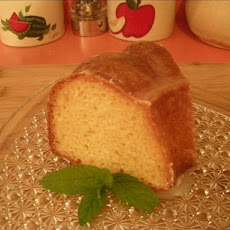 Busy Day Lemon Glazed Pound Cake