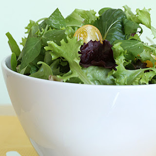 Everyday Leafy Green Salad Served with Aged Balsamic Vinaigrette or Mustard Vinaigrette