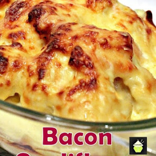 Baked Cauliflower With Bacon Recipes