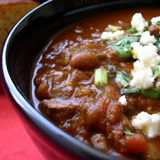 Smokey Slow Cooker Chili