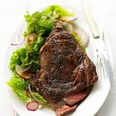 Chili-Rubbed Steak and Salad