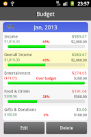 Screenshot of Balli Budget (Free)