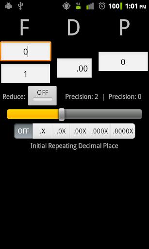 Fraction Decimal Percent