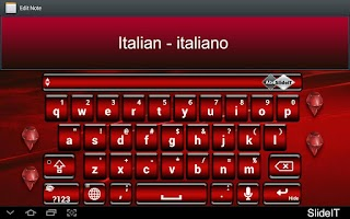 Screenshot of SlideIT Italian Pack