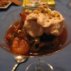 Spiced Fruit Compote With Ricotta Cream