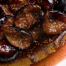 Spiced Honey Cake with Caramelized Figs Recipe