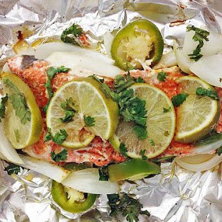 Jalapeno Lime Salmon Foil Packets