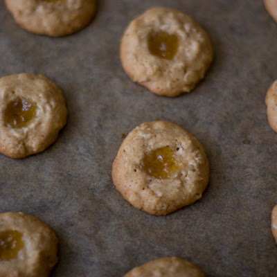 Honey-sweetened Thumbprint Cookie