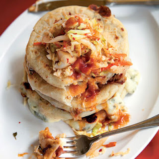 Masa Cakes with Spicy Slaw (Pupusas con Curtido)