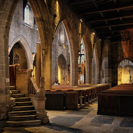 Shadows of the past by Phil Robson - Buildings & Architecture Places of Worship ( religion, church, newcastle, st nicholas cathedral, worship )