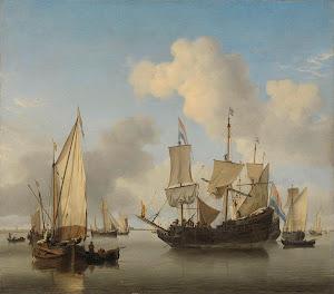 RIJKS: Willem van de Velde (II): painting 1660