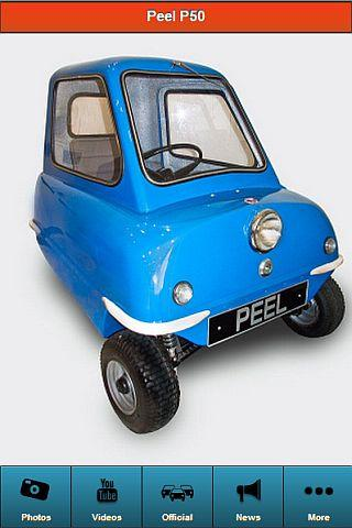 Peel P50 Worlds Smallest Car