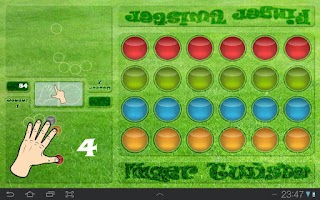 Screenshot of Finger Twister
