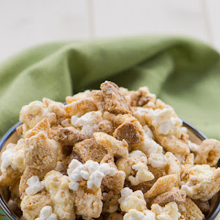 Ginger Snap Popcorn Snack Mix
