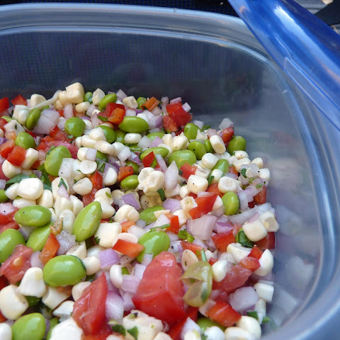 Refreshing Edamame and Corn Salad with Lime