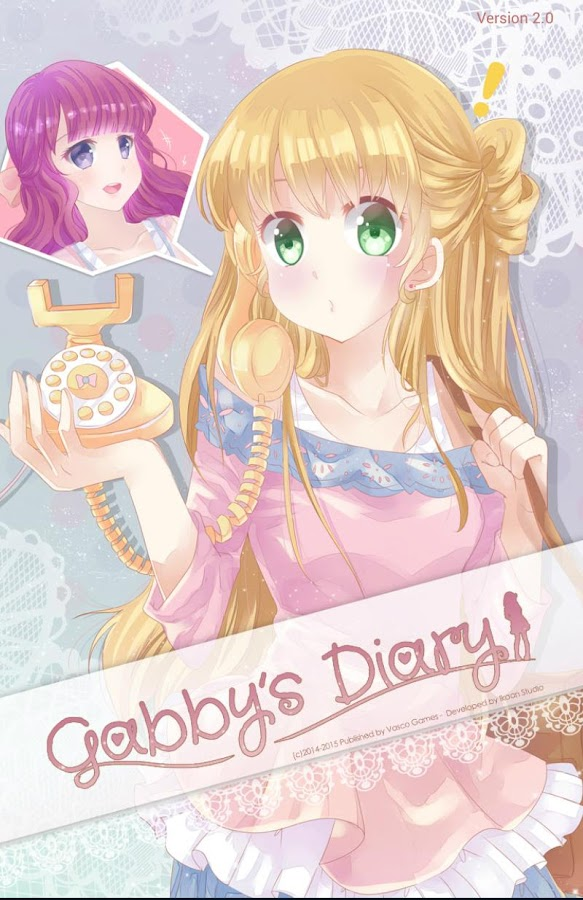 Gabby S Diary Anime Dress Up Otome Play Anime Otome Games For