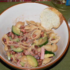 New Year's Lucky Pasta With Blackeye Peas