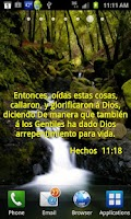 Screenshot of Versos Biblicos Wallpaper