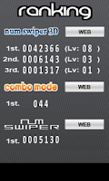 Screenshot of NUM SWIPER 3D